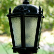 Lantern in park - Stock Photo
