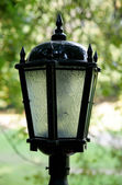 Lantern in park — Stock Photo