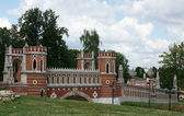 Russia, museum, the bridge — Stock Photo