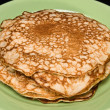 Pancakes on a plate - Stock fotografie