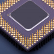 Stock Photo: Processor chip