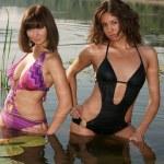 Beautiful girls in bikini — Stock Photo #3571237
