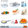 Cooking icons set — Stock Vector #2731670