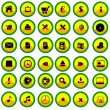 Royalty-Free Stock Vector Image: Button set2
