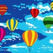 Royalty-Free Stock Vectorielle: Pop art balloons