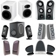 Royalty-Free Stock Imagen vectorial: Computer speakers