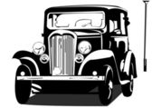 Old timer — Stock Vector
