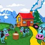 On a farm — Stock Vector #2847334