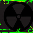 Stock Vector: Toxic background image.