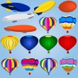 Airship icons -  