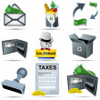 Royalty-Free Stock Vector Image: Accounting icons