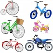 Royalty-Free Stock Vector Image: Bike icons