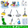 Cleaning icons 3 - Stock Vector