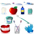 Royalty-Free Stock Imagen vectorial: Dental icons set 4