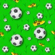 Royalty-Free Stock Vector Image: Football Seamless Pattern