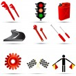 Transport icons — Stock Vector #2868826