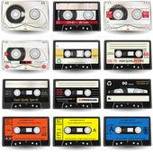 盒式磁带 — 图库矢量图片