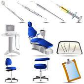 Dental icons set 3 — Stock Vector