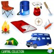 Camping collection — Stock Vector #2873915
