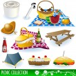 Picnic collection — Stock Vector #2874175