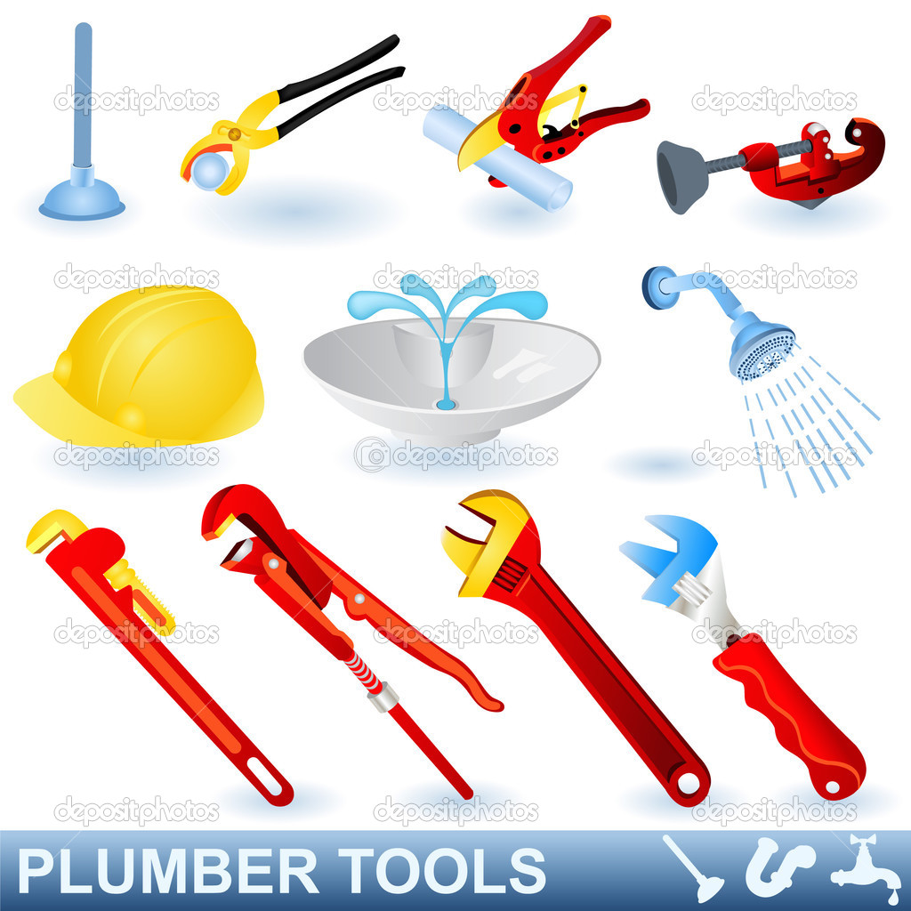 Faucets further Stock Illustration Plumber Tools Set in addition Electrical Symbols together with Luigi in addition 322165. on plumbing logos and names