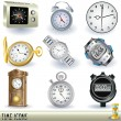 Royalty-Free Stock Vector Image: Time icons