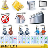 Business icons 1 — Stock Vector