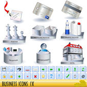 Business icons 9 — Stock Vector