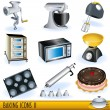 Baking icons 2 — Stock Vector