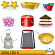 Royalty-Free Stock Vector Image: Baking icons 3