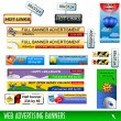 Web banners — Stock Vector