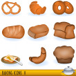 Baking icons 5 — Stock Vector
