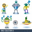 Space collection 3 — Stock Vector