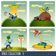 Royalty-Free Stock Vector Image: Space collection 5