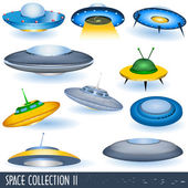 Space collection 2 — Stock Vector