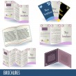 Royalty-Free Stock Vector Image: Brochures
