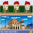 Real estates 10 — Stock Vector #3704879