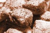 Sepia cookies — Stock Photo