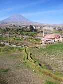 Landscape near Arequipa, Peru — Stock Photo
