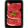 Royalty-Free Stock Photo: Porterhouse Meat Tray