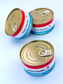 Generic Canned Tuna — Stock Photo