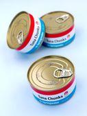 Generic Canned Tuna — Stock Photo