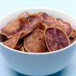 Sweet Potato Crisps — Stock Photo