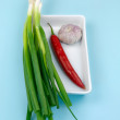 fresh ingredients — Stock Photo