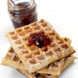 Breakfast Waffles — Stock Photo #3141826