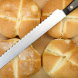 Fresh Bread Rolls — Photo