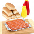 Frankfurt Sausages — Stock Photo