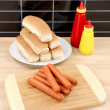 Hotdogs — Foto de Stock