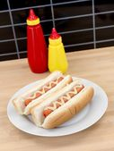 Hotdogs — Stock Photo
