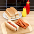 Hotdogs — Foto de stock #3213928